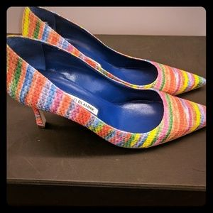 Manolo Blahnik Shoes - Manolo Blahnik Custom Order Heels